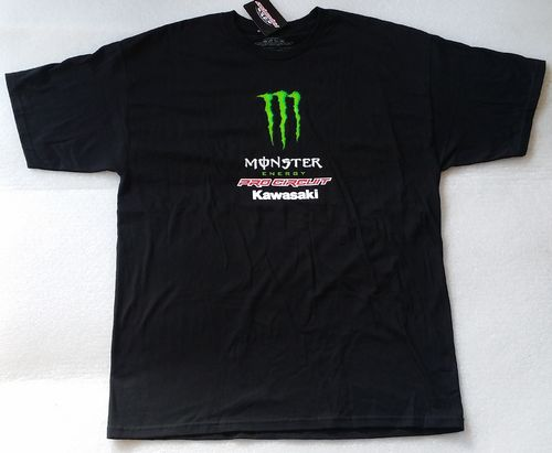 Pro Circuit T-Shirt Team Monster Black