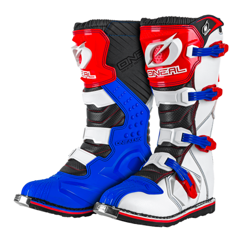 O`NEAL RIDER BOOT EU BLUE/RED/WHITE